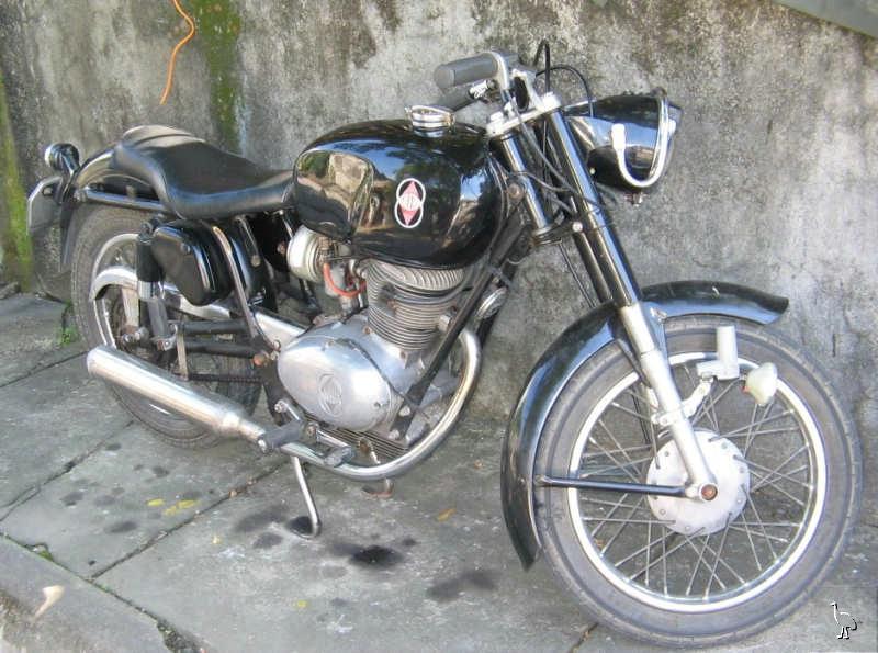 Gilera 150 Negra 1968