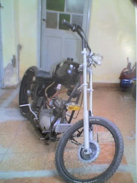 Gilera Sport Customizada Chopper