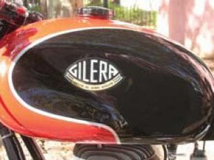 Gilera 150 SS Tanque pintura
