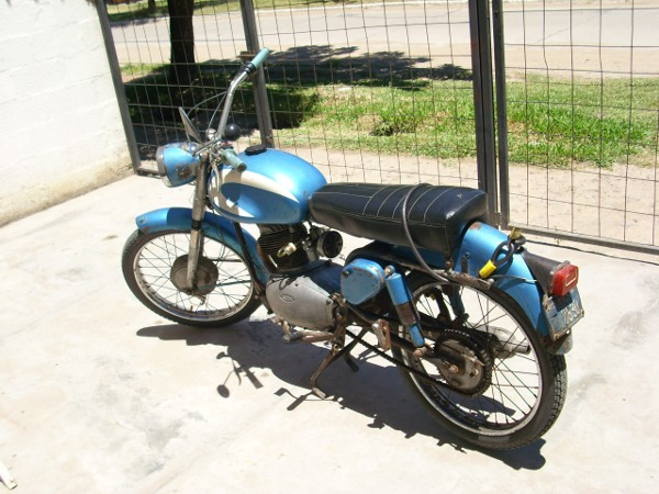 Gilera 150 Azul