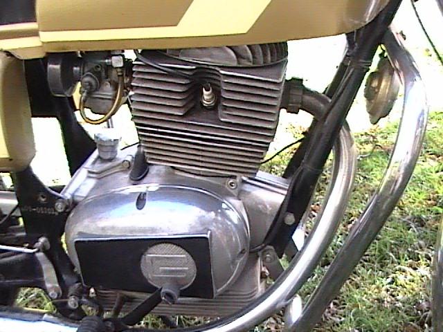 Motor Gilera 200