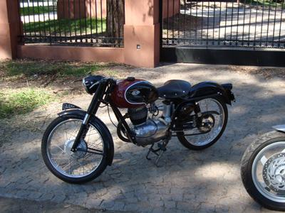 Gilera 150 SS 1956