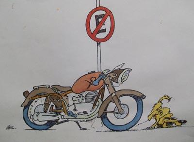 Caricatura Gilera