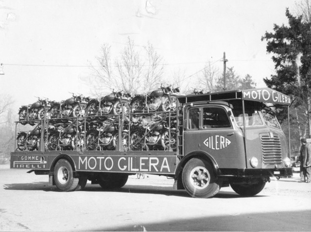 Camion de Gileras