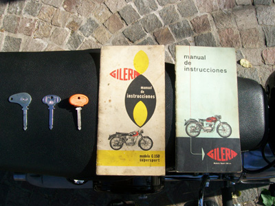 Manuales y llaves