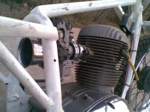Gilera 175 Motor