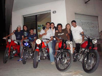 Gileras en Jujuy