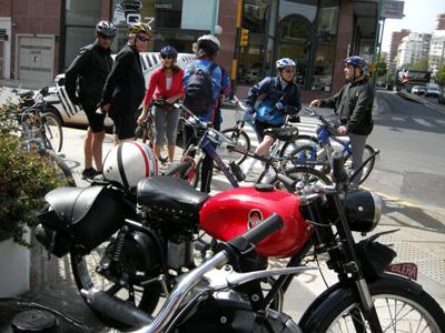 Bicicleteros copan esquina