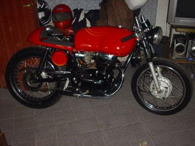 la gilera café racer de eduardo – motos gileras clásicas