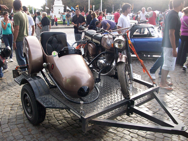 Gilera con Sidecar