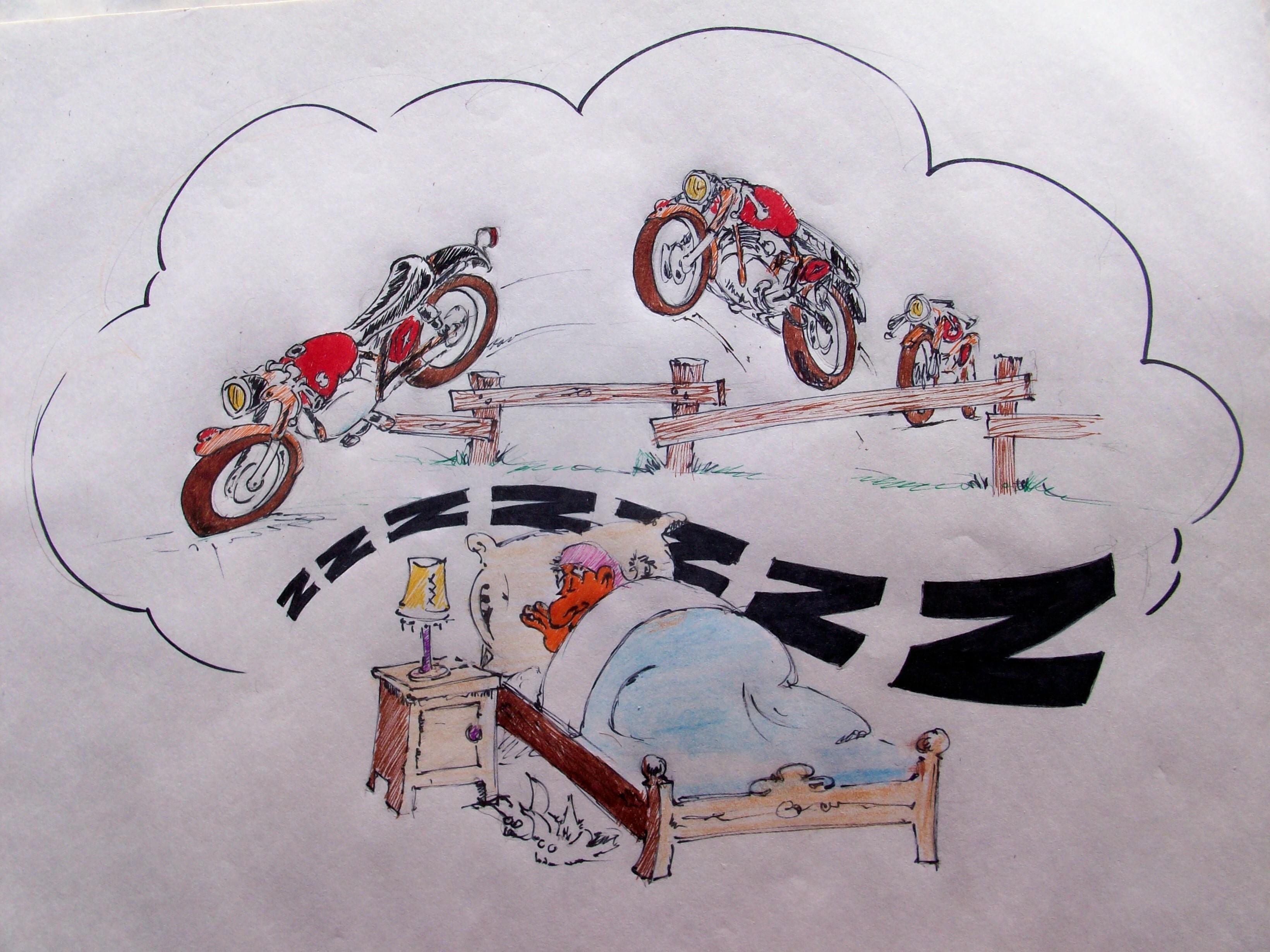 Gilecosas Gileras Clásicas tira cómica
