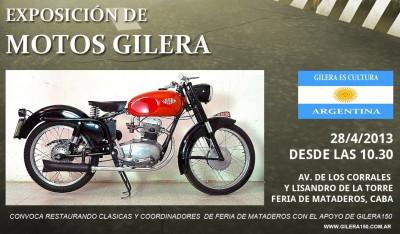 Afiche Gilera