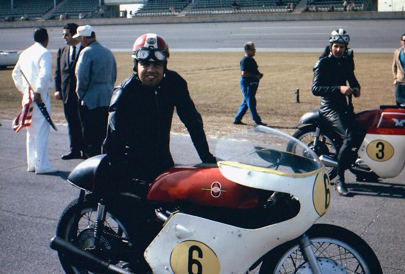 1964 Daytona Chiche Caldarella Gilera