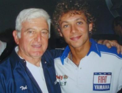 Valentino Rossi con Ted